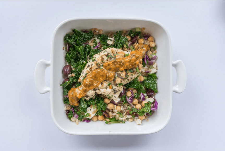 CHICKEN & BROWN RICE SALAD